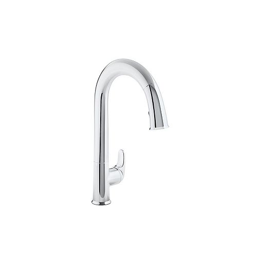 Sensate Ac-Powered Touchless Kitchen Faucet in Polished Chrome
