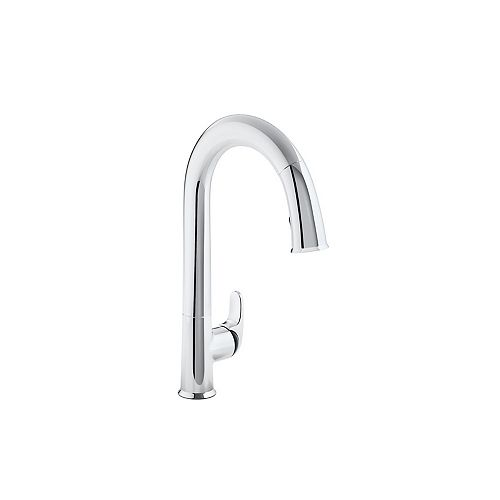 Sensate Ac-Powered Touchless Kitchen Faucet in Vibrant Polished Chrome