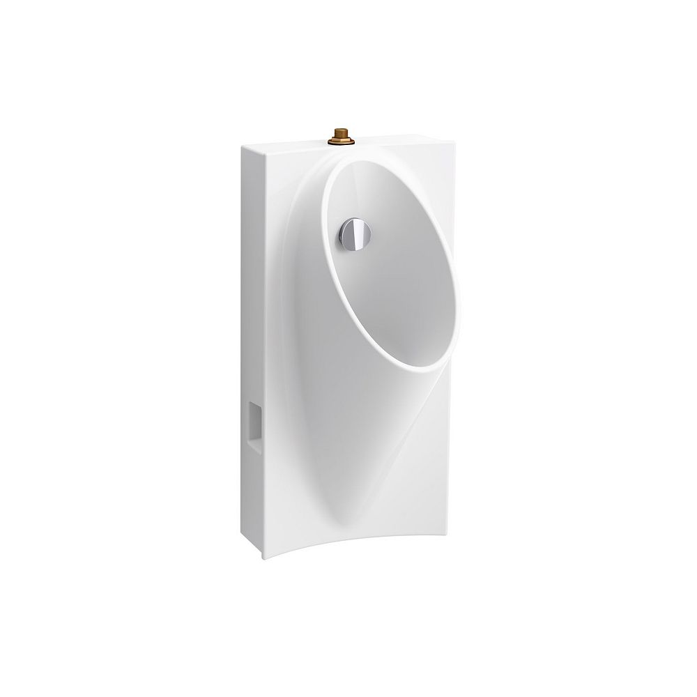 KOHLER Steward Hybrid High-Efficiency Urinal With 3/4-inch Top Spud In White
