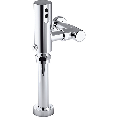 Tripoint Exposed Hybrid 1.6 Gpf Flushometer For Toilet Installation In Polished Chrome