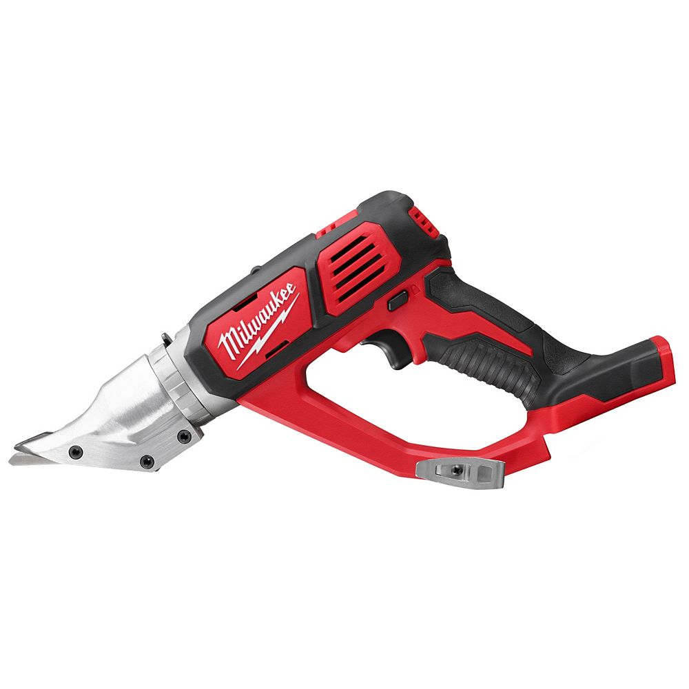 Milwaukee Tool M18 18V Lithium-Ion Cordless 18-Gauge Double Cut Metal Shear (Tool Only)