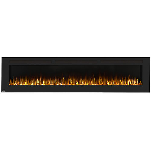 Allure 100-inch Linear Wall Mount Electric Fireplace