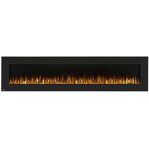 Napoleon Allure 100-inch Wall-Mount Electric Fireplace in Black