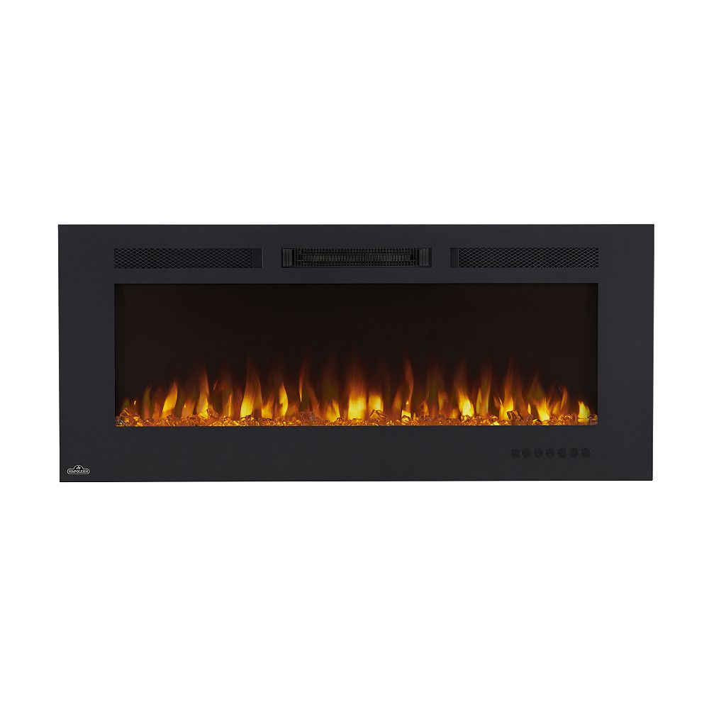 Napoleon Allure Phantom 50-inch Wall Mount Electric Fireplace with Non-Reflective Mesh Screen