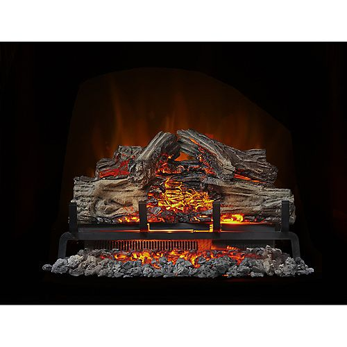 Woodland 24-inch Electric Log Fireplace Insert