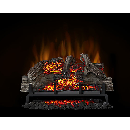 Woodland 27-inch Electric Log Fireplace Insert