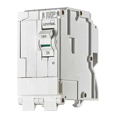 2-Pole 80A 120/240V Plug-on Circuit Breaker