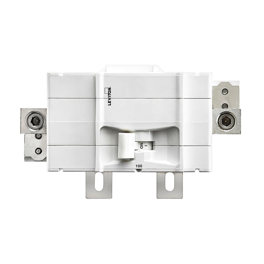Leviton 2-Pole 100A 120/240V Plug-on Main Circuit Breaker