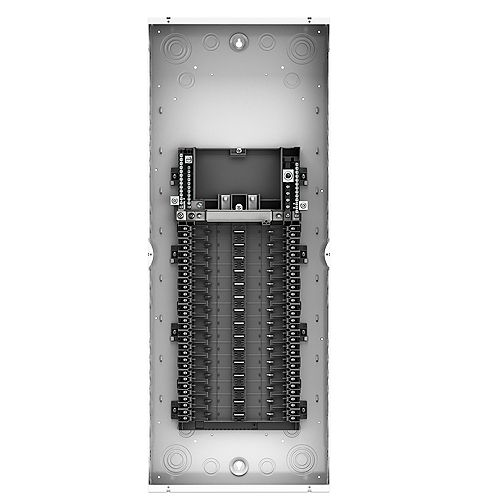 Leviton 125A 120/240V 20 Circuit 20 Spaces Indoor Load Center and Door with Main Lugs