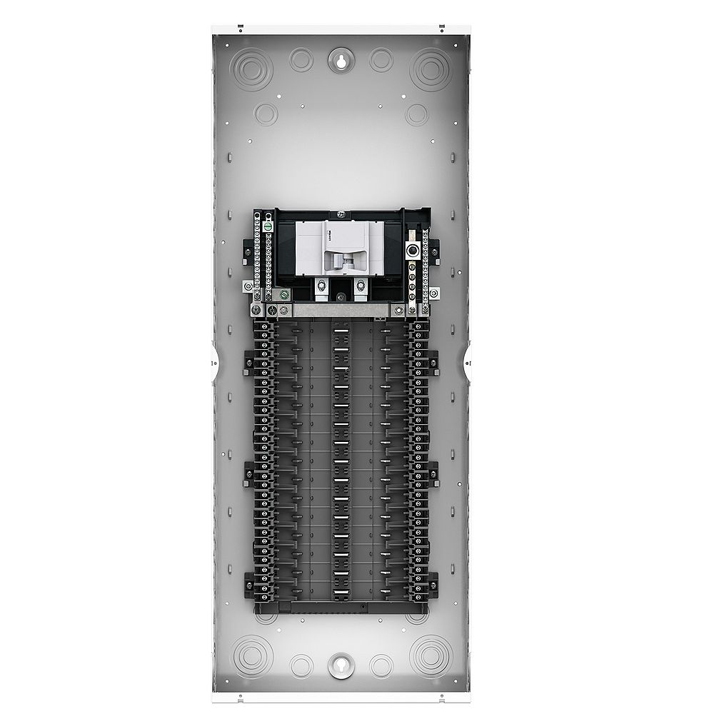 Leviton 150A 120/240V 30 Circuit 30 Spaces Indoor Load Center and Window Door with Main Breaker