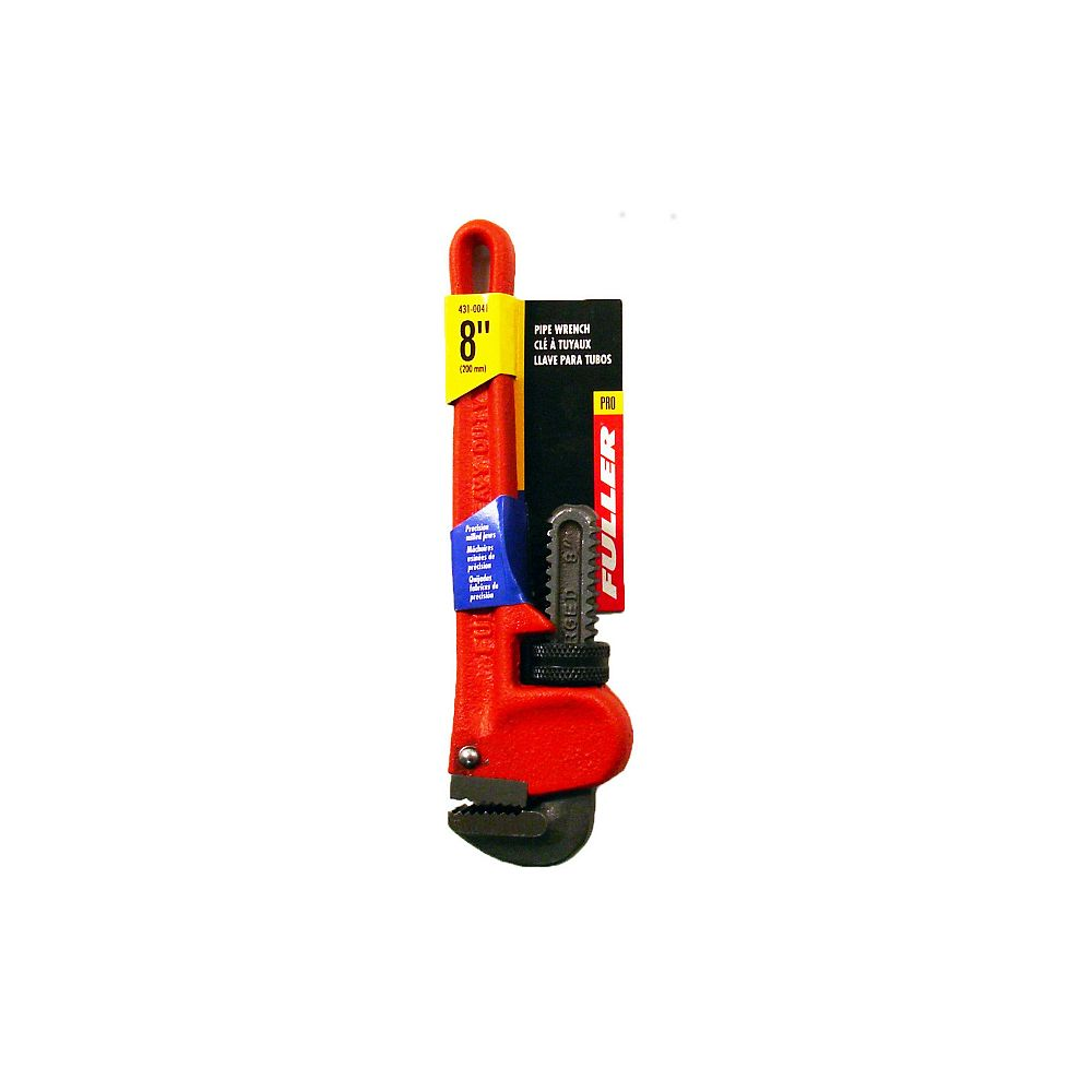 Fuller Pro Series Precision-Milled 8-inch Pipe Wrench