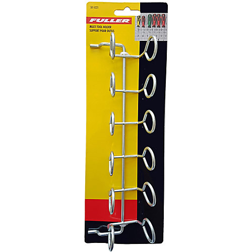 Pegboard Multi-Tool Holder for 6 Tools
