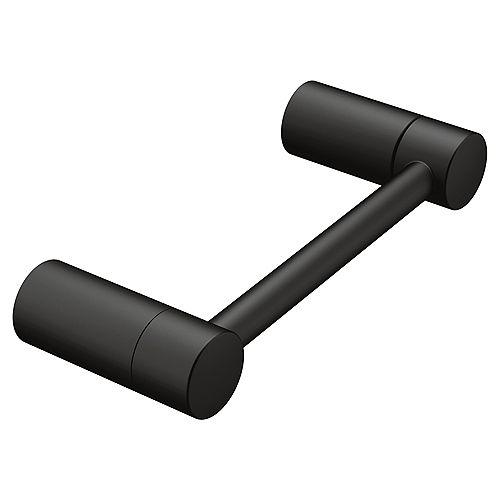 Align Pivoting Toilet Paper Holder in Matte Black
