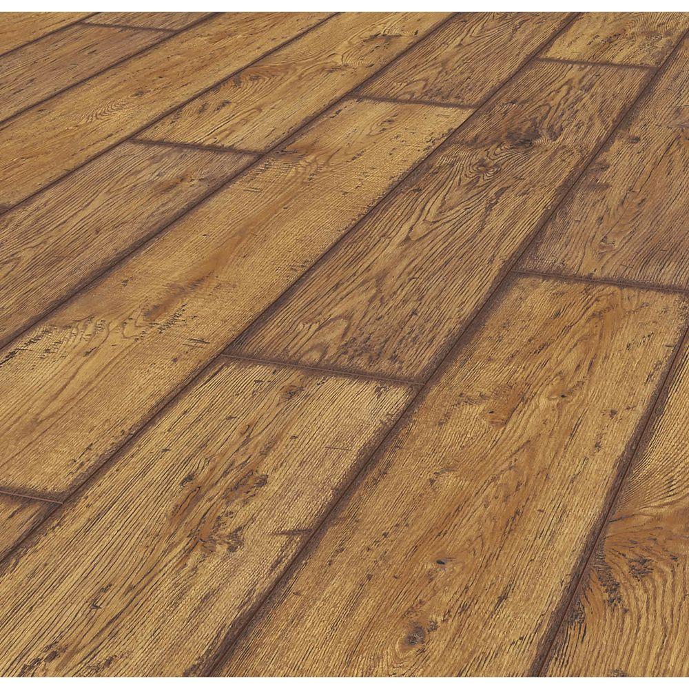 Lifeproof Rustic Brown Oak 12 Mm Thick, Textured Laminate Flooring Rustic Oak