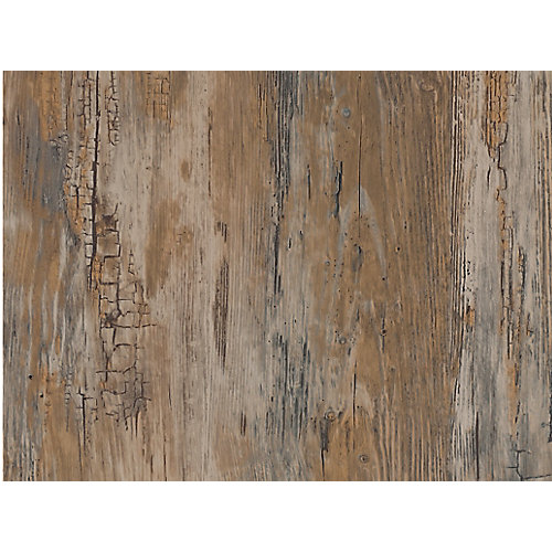 346-0478 Home Decor Self Adhesive Film 17-inch x 78-inch Rustic - (2-Pack)