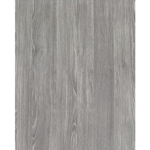 346-0587 Home Decor Self Adhesive Film 17-inch x 78-inch Oak Sheffield Pearl Grey - (2-Pack)