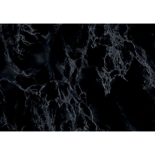346-8027 Home Decor Self Adhesive Film 26-inch x 78-inch Marble Black
