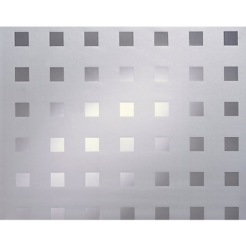 338-8010 Home Decor Static Cling Window Film 26-inch x 59-inch Caree