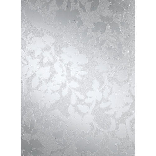 338-8027 Home Decor Static Cling Window Film 26-inch x 59-inch Spring