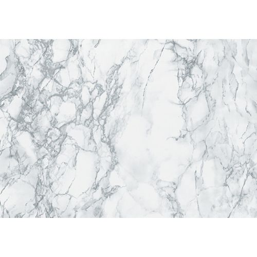 346-0306 Home Decor Self Adhesive Decor 17-inch x 78-inch Marble Grey - (2-Pack)