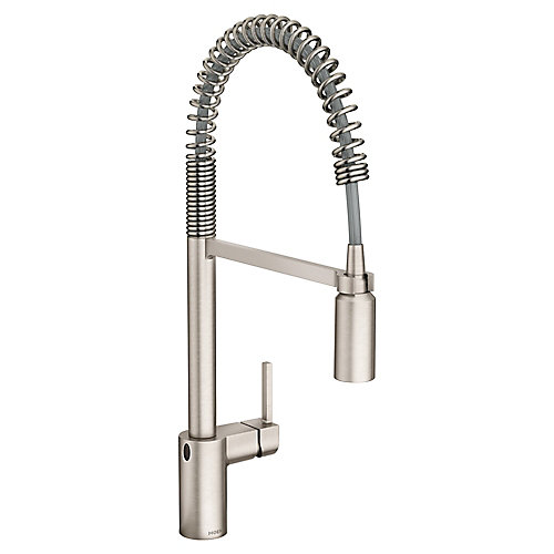 Align Motionsense Wave Pulldown Kitchen Faucet In Spot Resist Stainless