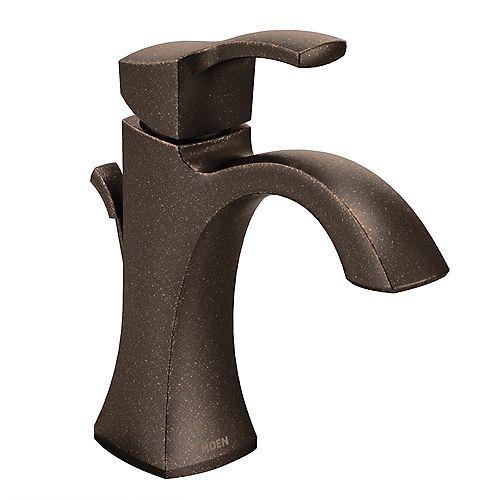 MOEN Voss Single Hole Single-Handle High-Arc Bathroom Faucet in Oil Rubbed Bronze