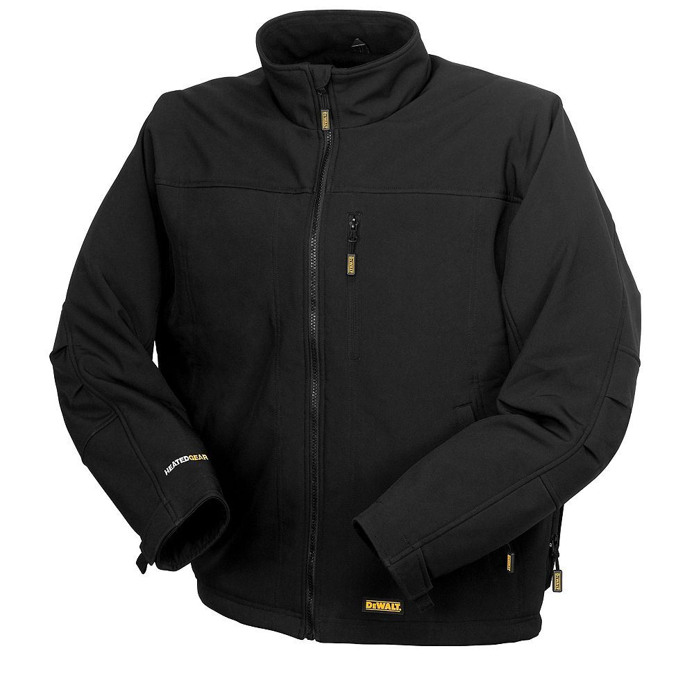 DEWALT Heated Soft Shell Jacket with 20 V Max Battery, Charger and Adapter