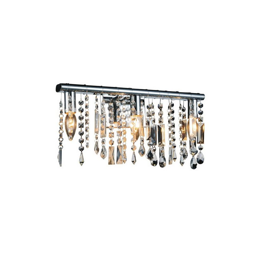CWI Lighting Janine 6 inch 1 Light Wall Sconce with Chrome Finish