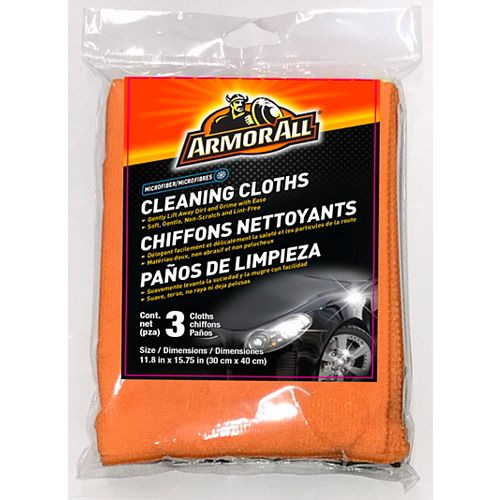 3 Microfiber Cleaning Cloths 12/3ct