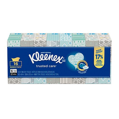 Facial Tissue (16-Pack)