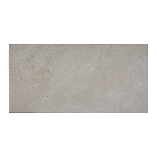 Cove Quill Gray 12-inch x 24-inch Glazed Porcelain Floor and Wall Tile