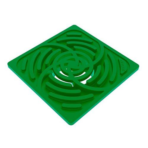 6 inch Square Green Grate