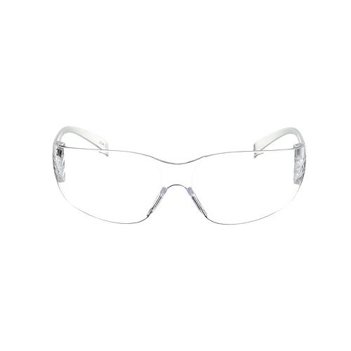 3M Indoor Safety Eyewear, 90953-BU10-NA, clear frame, clear lens