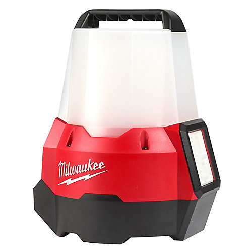 M18 18V Cordless 2200-Lumen Radius LED Compact Portable Site Light with Flood Mode (Tool-Only)