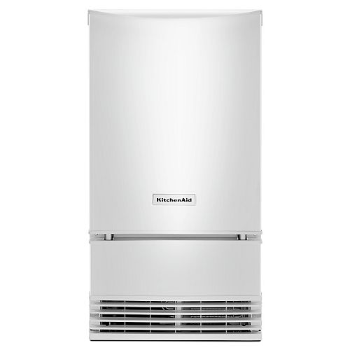 18-inch W 35 lb. Automatic Ice Maker in White
