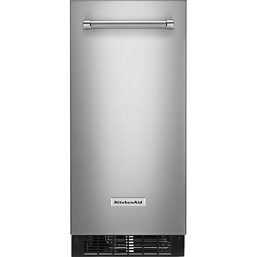 15-inch W 25 lb. Automatic Ice Maker in PrintShield Stainless Steel