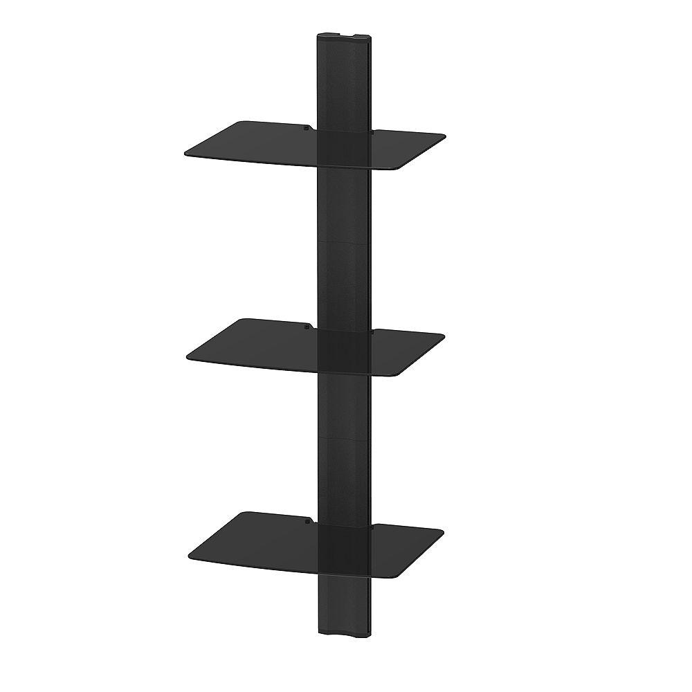 Kanto AVT3 Wall Mounted AV Shelves - 3
