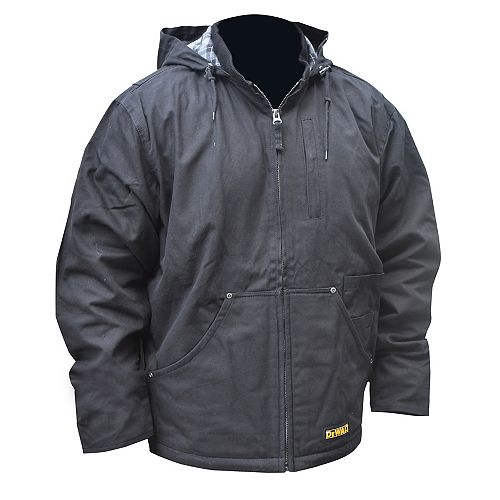 Heated Heavy Duty Work Coat with 20 V Max Battery, Charger and Adapter