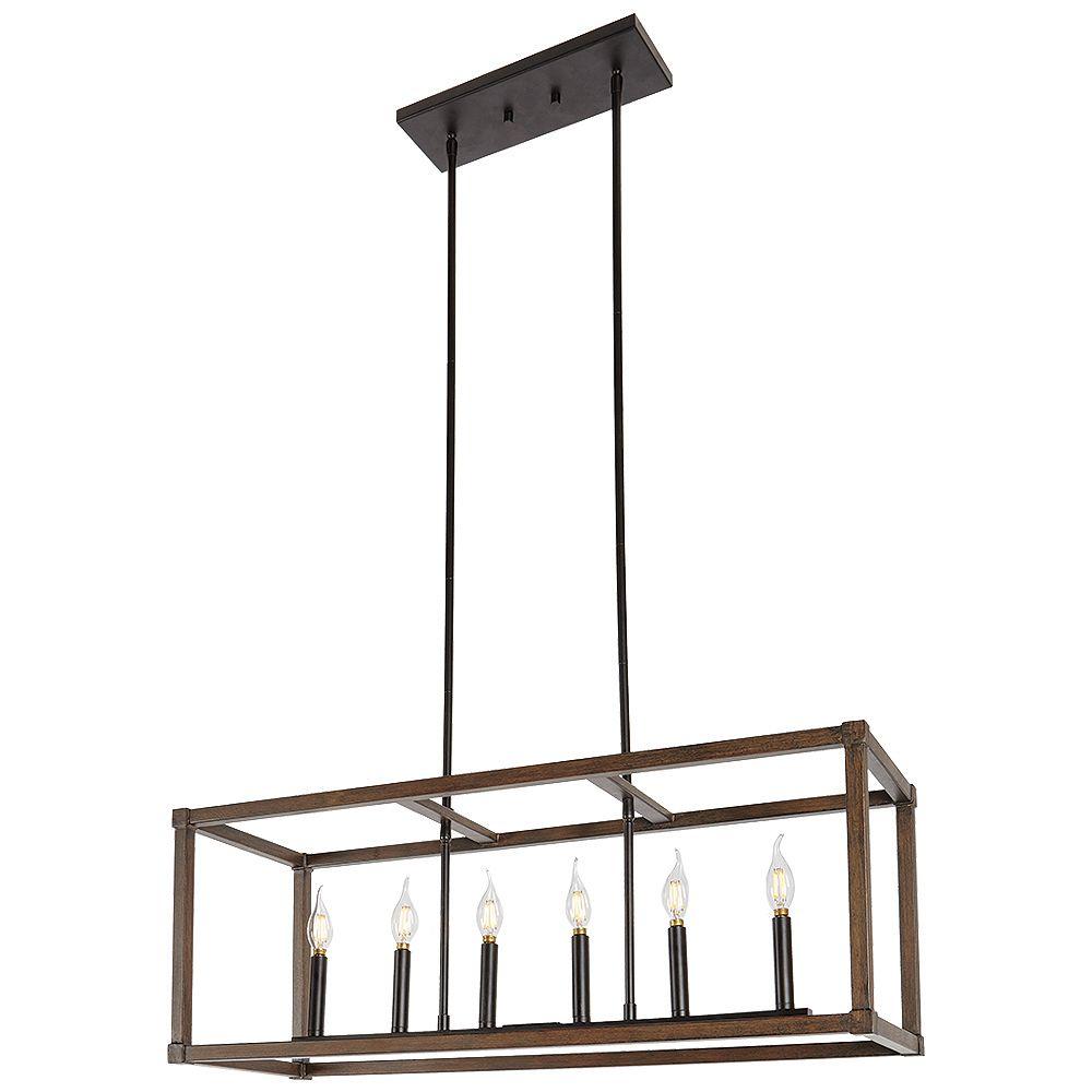 Home Decorators Collection 6-Light Pendant | The Home ...