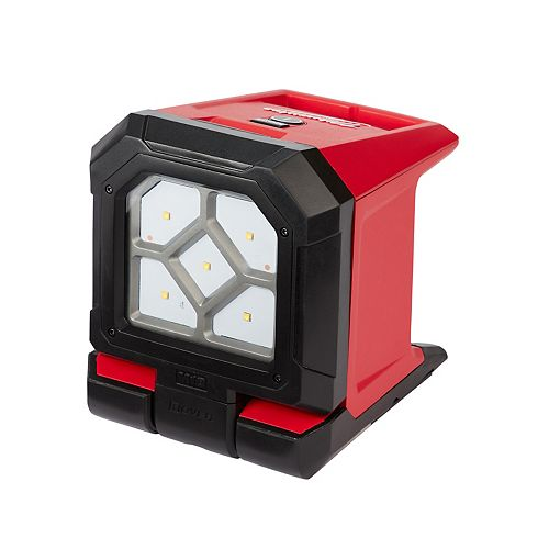 M18 18V Lithium-Ion Cordless 1500-Lumen ROVER LED Mounting Portable Flood Light (Tool Only)