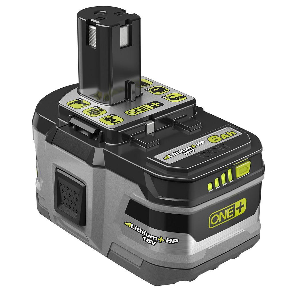 RYOBI 18V ONE+ 6.0Ah Lithium+ HP Battery