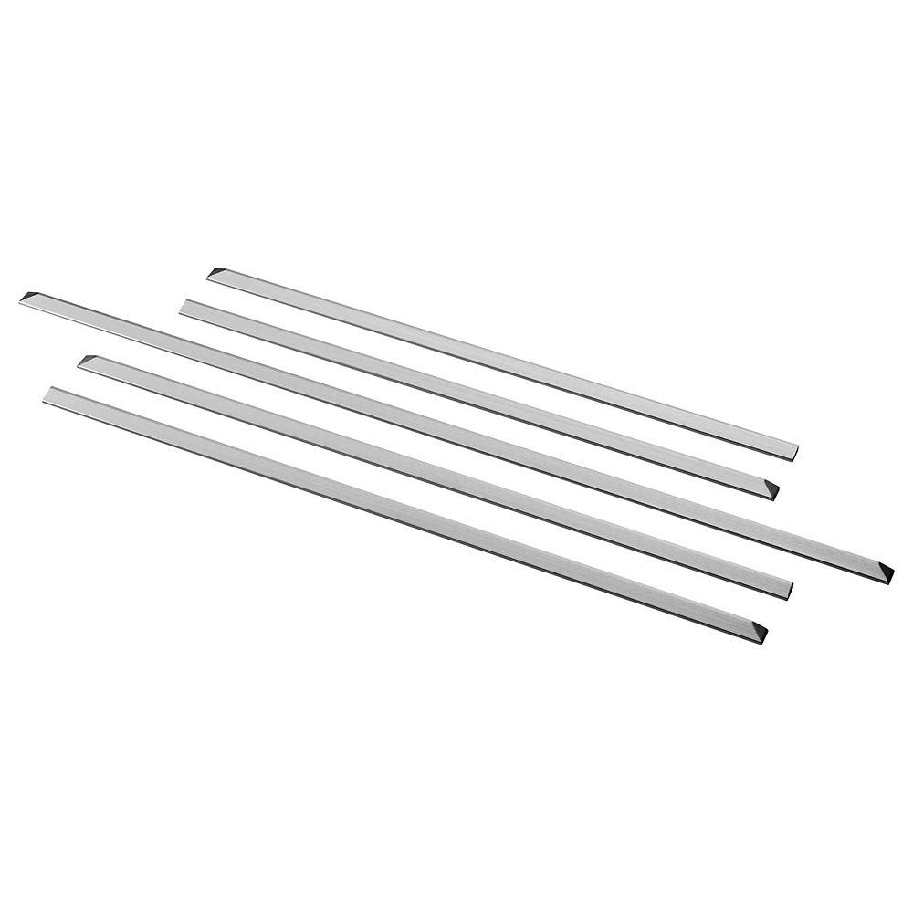 GE Gas Slide-in Range Filler Kit in Stainless Steel