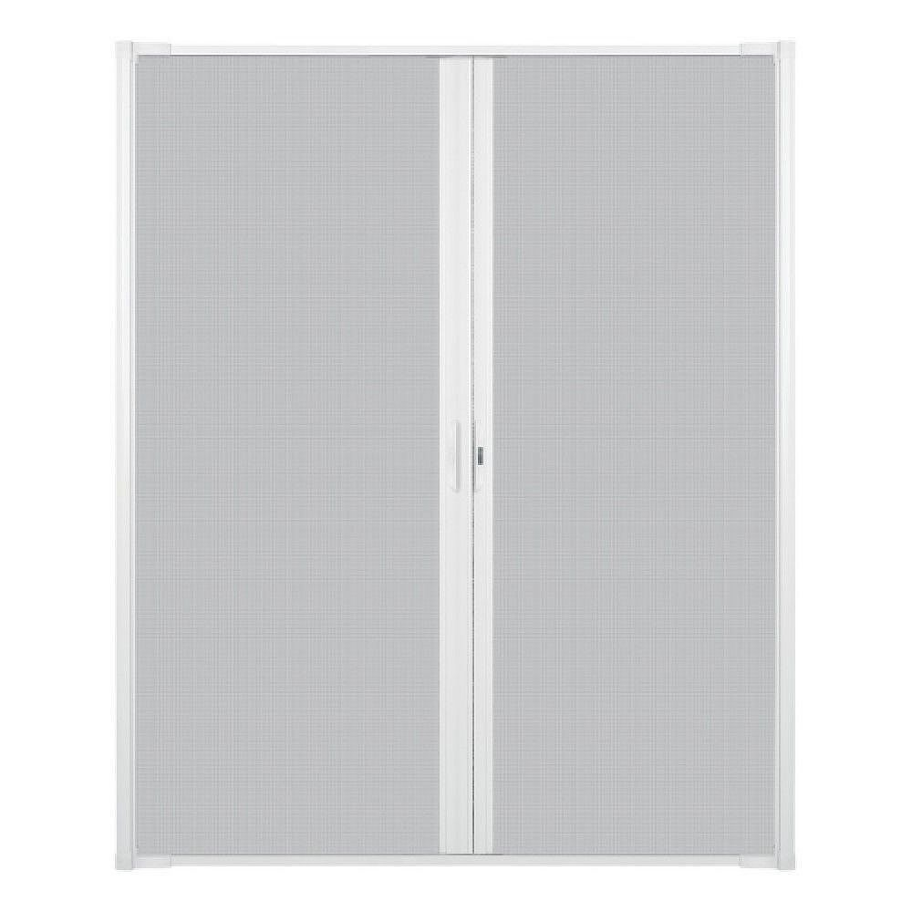 Andersen Luminaire Retractable Screen for Double Doors 68-inch to 72 inch Wide in White