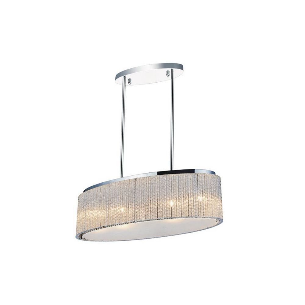 CWI Lighting Colbert 10 inch 5 Light Chandelier with Chrome Finish