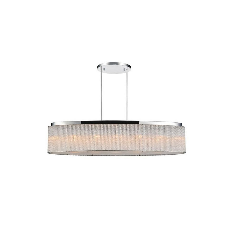 CWI Lighting Colbert 10 inch 7 Light Chandelier with Chrome Finish