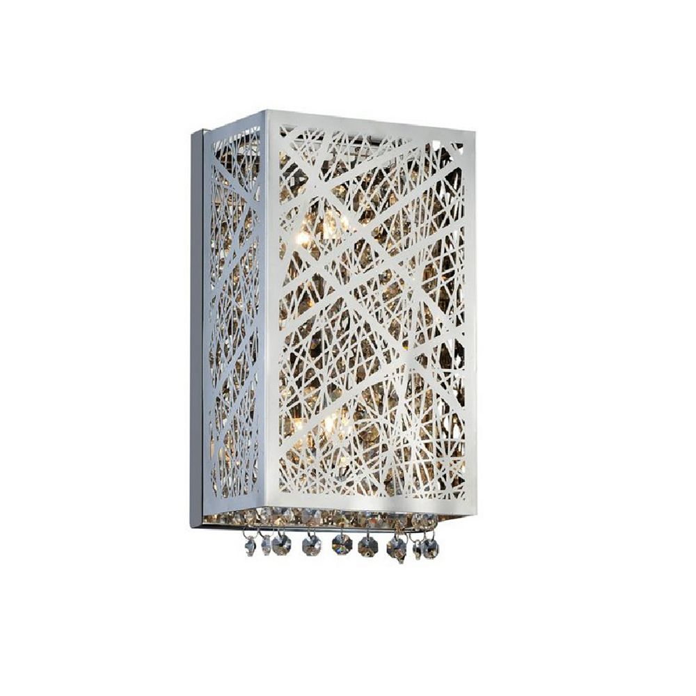CWI Lighting Eternity 4 inch 1 Light Wall Sconce with Chrome Finish