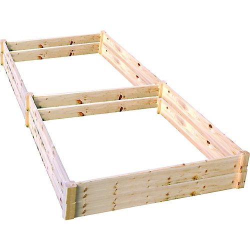 Quick Assembly Raised Garden Bed (4 ft. X 8 ft. X 11 inch)