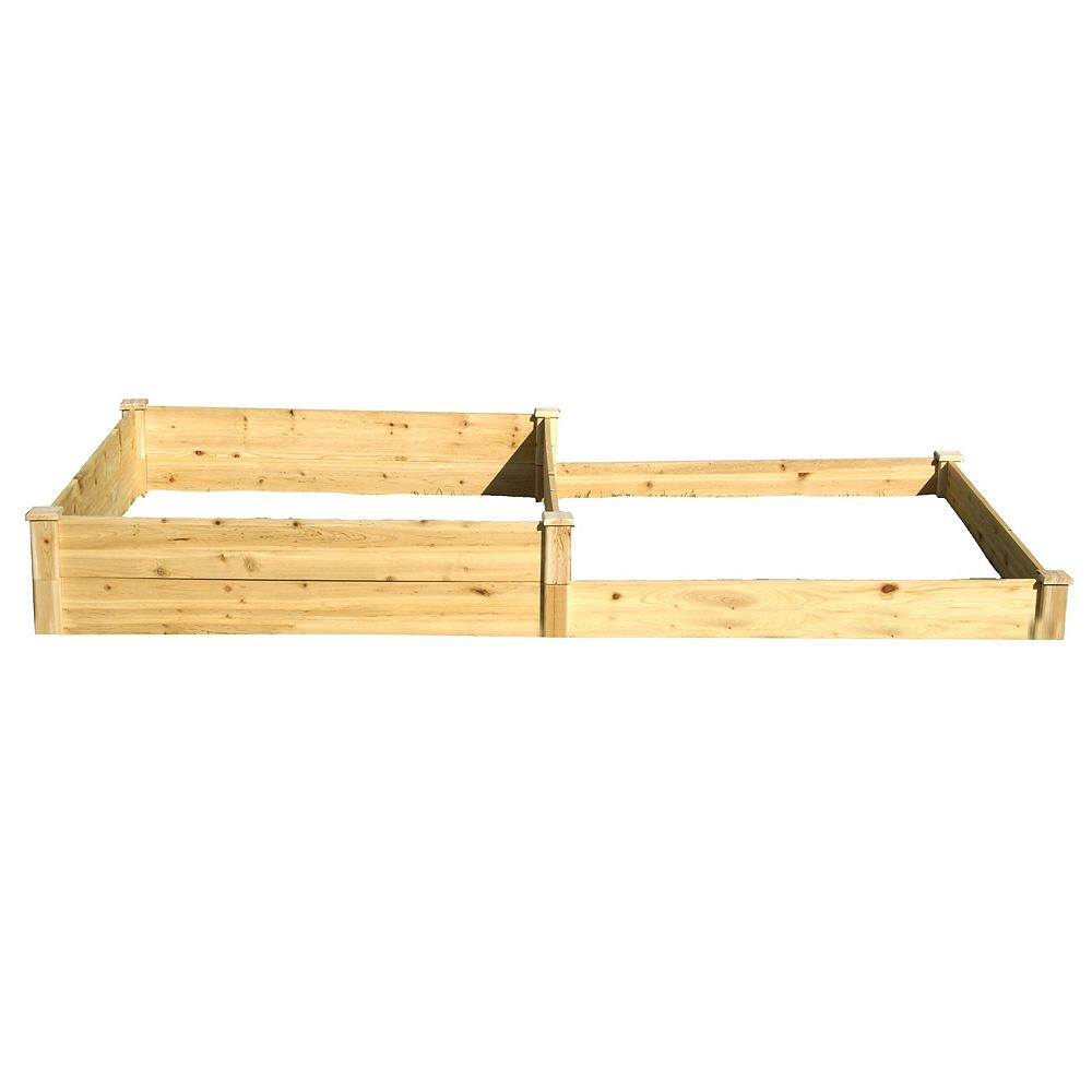 Eden Quick Assembly Raised Garden Bed (4 ft. X 8 ft. X 5-11 inch)