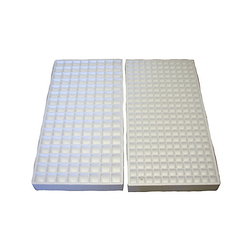 Hydroponic Seed Tray -128 and 242 Plugs