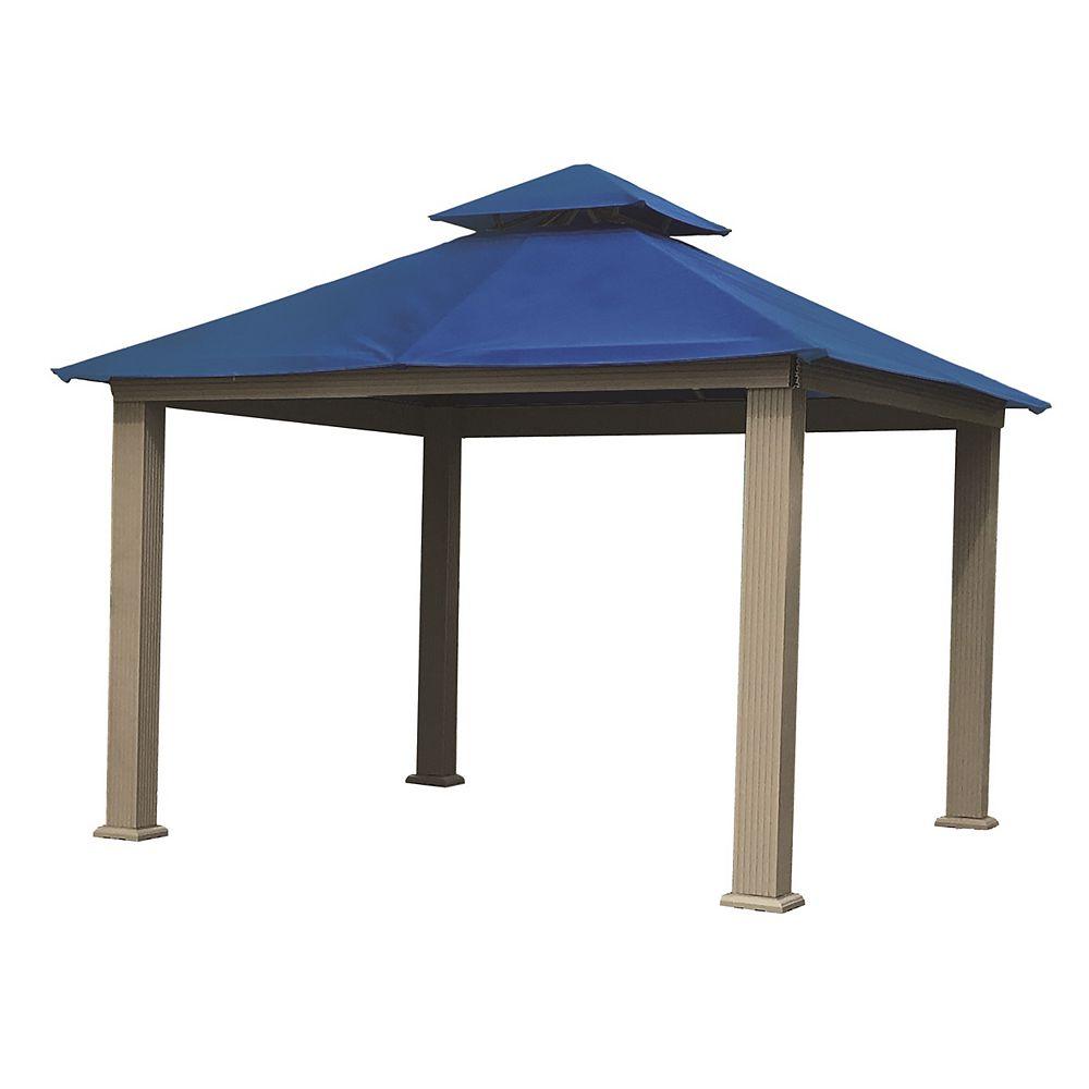 ACACIA 12 ft. Sq. Gazebo -Cobalt Blue